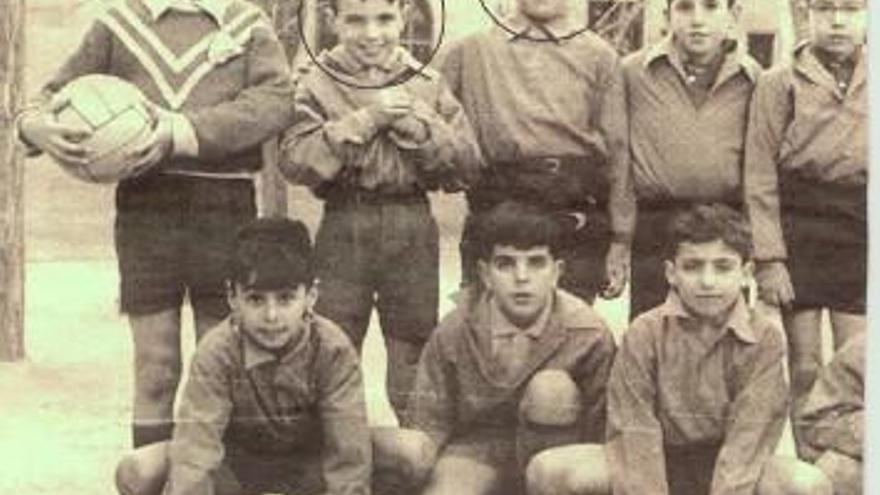 Aznar y Villalonga fueron juntos al Colegio.