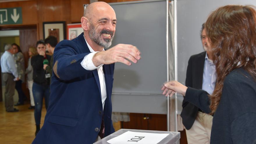 Carlos Goyeche, doctor en Veterinaria y ganador de las elecciones a rector de la Complutense.