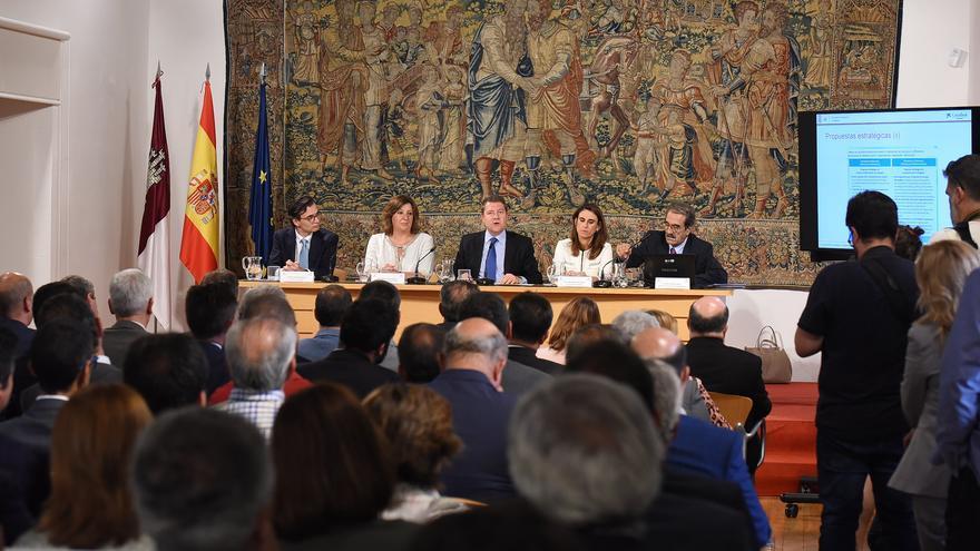 Presentación del estudio 'La economía de la comunidad autónoma de Castilla-La Mancha' de la consultora AFI