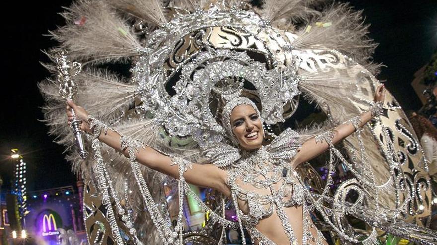 Reina del Carnaval de Las Palmas de Gran Canaria 2015. Foto EFE