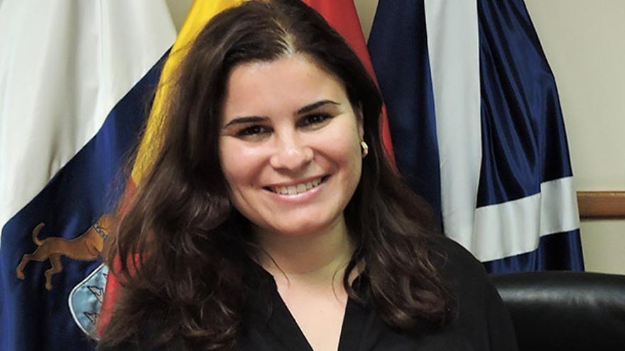 Mari Brito, alcaldesa candelariera del PSOE