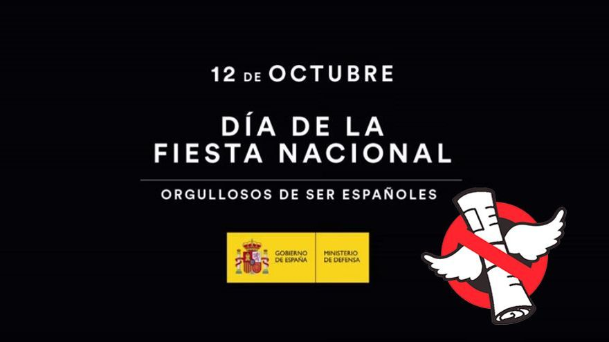 Campaña del pasado 12 de octubre del Ejecutivo de Rajoy