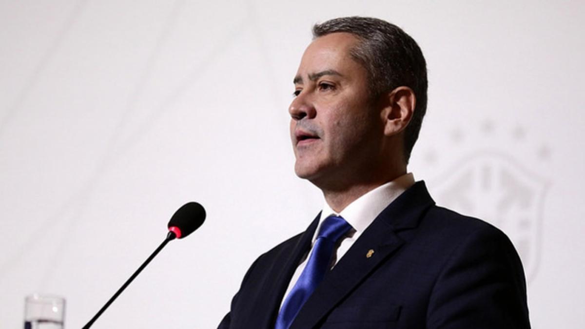 El presidente de Confederación Brasileña de Fútbol (CBF), Rogério Caboclo