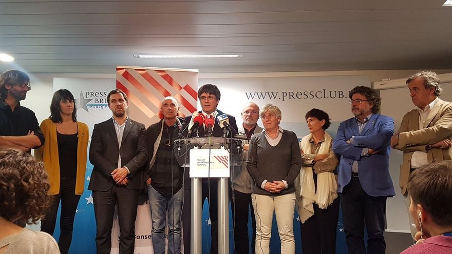 """Puigdemont cree """"más urgente que nunca"""" que el Gobierno central se siente y hable"""
