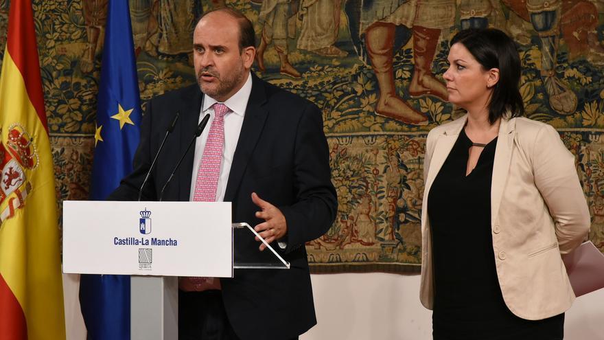 Comparecencia Vicepresidente de la Junta y Mayte Fernández
