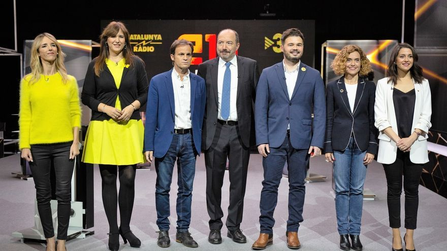 Álvarez de Toledo y Arrimadas piden la dimisión al director de TV3 en el debate que él presenta