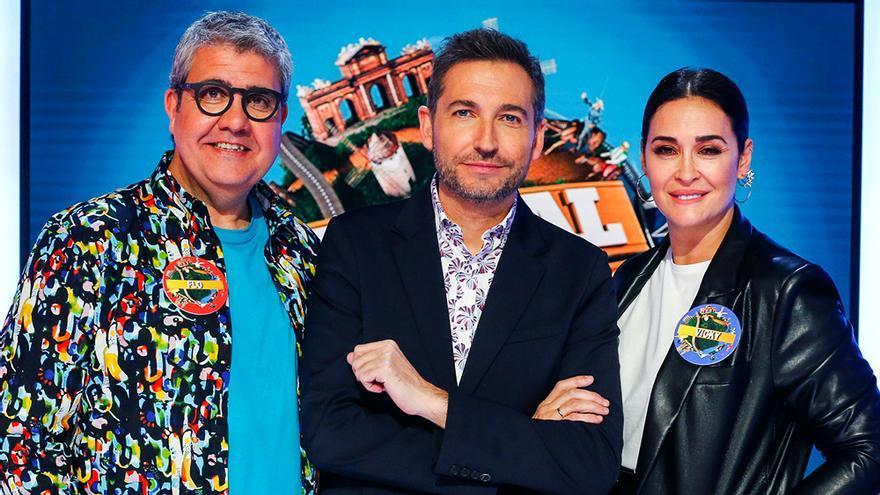 Flo, Frank Blanco y Vicky Martín Berrocal en 'Typical Spanish'