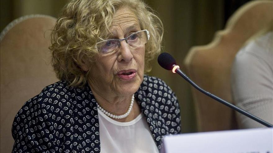 Manuela Carmena: No puede hablarse de guerra si queremos hablar de desarrollo