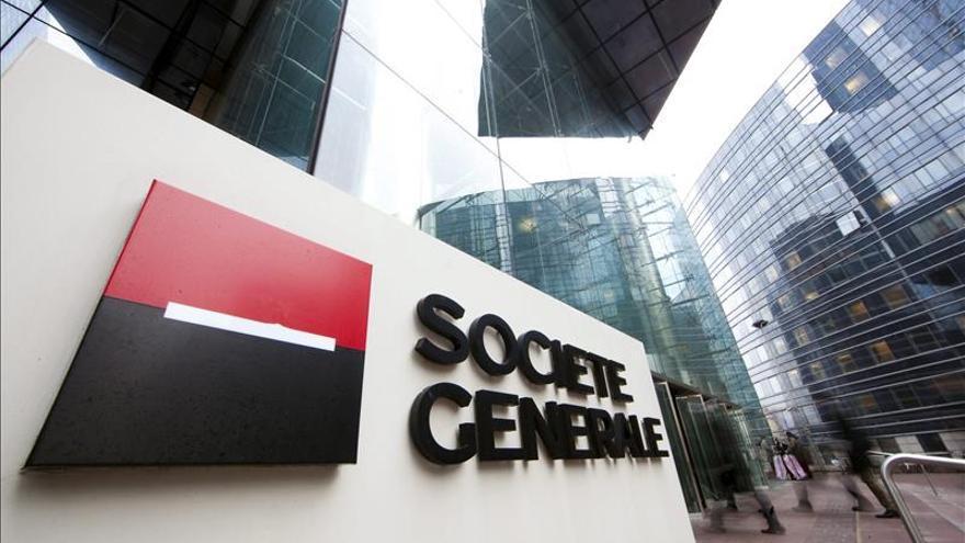 Société Générale quintuplicó su benefició trimestral respecto a 2014
