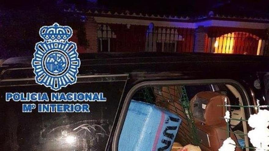 La polic a nacional interviene una tonelada de hach s en - Policia nacional cadiz ...