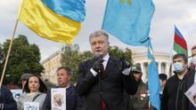Confiscan la colección privada de arte del expresidente ucraniano Poroshenko