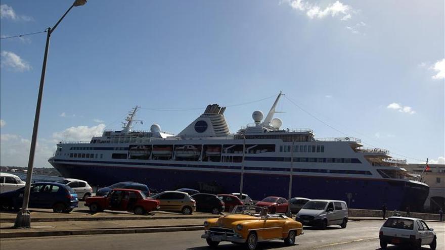 Llega a Cuba un crucero académico de Estados Unidos con unos 600 estudiantes