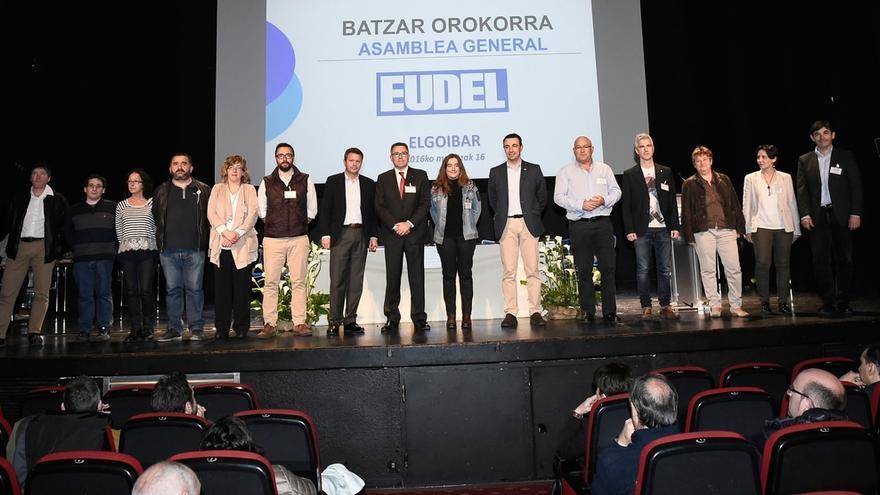La Asamblea de Eudel ratifica la candidatura de consenso y reelige a Imanol Landa como presidente