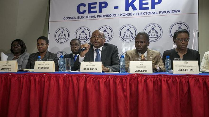 El Consejo Electoral de Haití dará en mayo una nueva fecha para la segunda vuelta de las elecciones