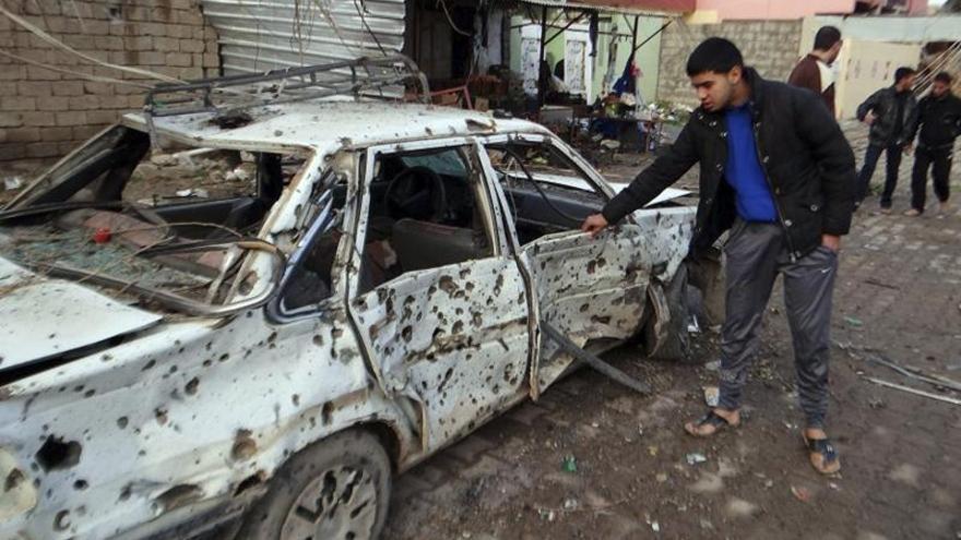Mueren 30 personas en una cadena de atentados en Bagdad y el este de Irak