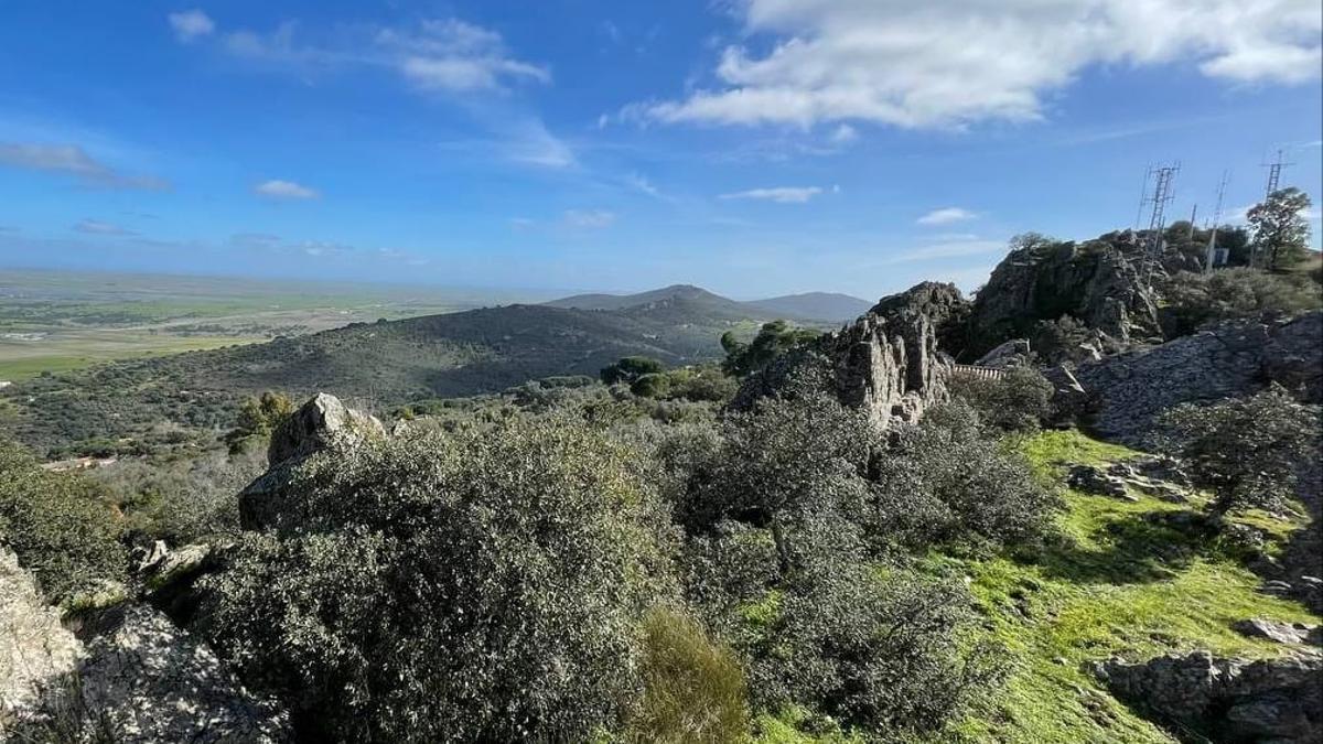 Sierra de la Mosca en Cáceres