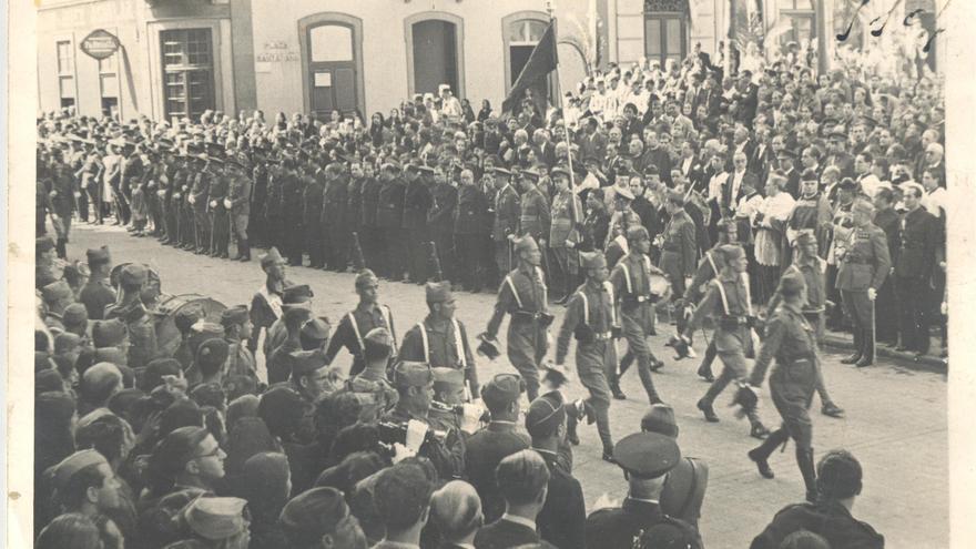 Nuevas fotografías de la Guerra Civil halladas en el municipio de Arucas