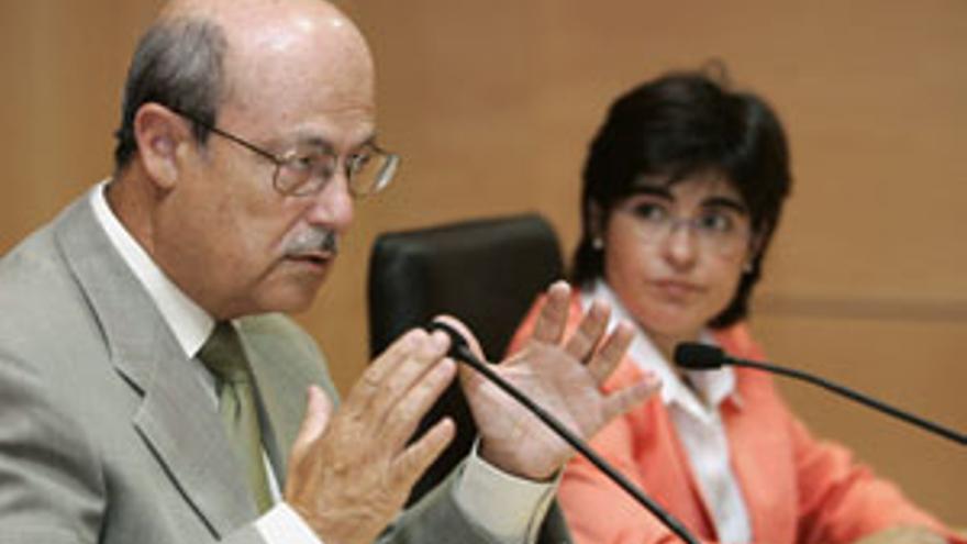José Segura y Carolina Darias, en una imagen de archivo. (CANARIAS AHORA)