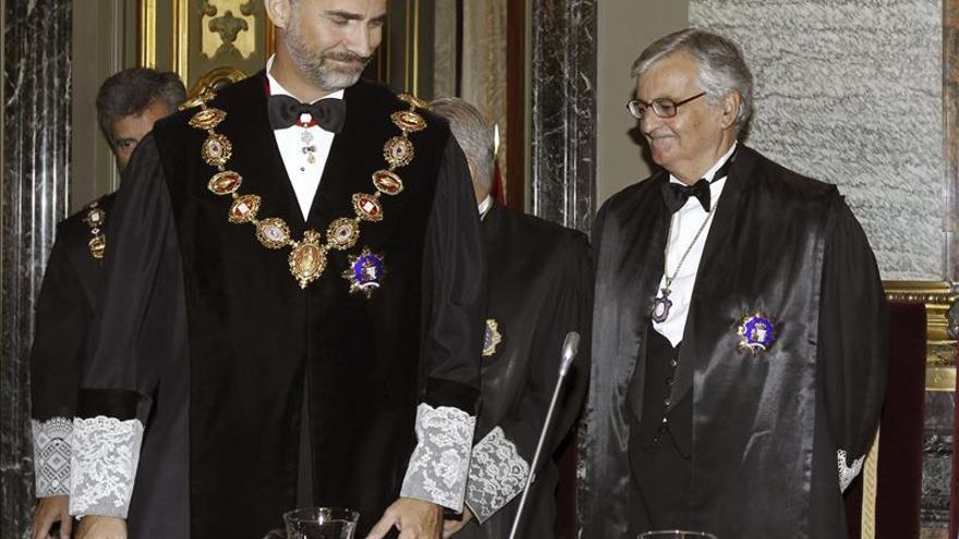 Torres-Dulce reclama ante el Rey más medios para luchar contra la corrupción