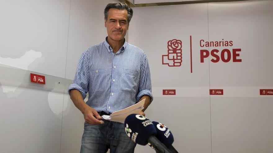 El eurodiputado Juan Fernando López Aguilar. (EFE/Quique Curbelo)