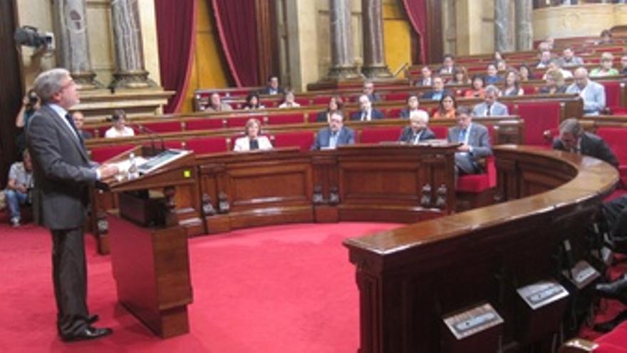 Xavier Sabaté, En El Parlament