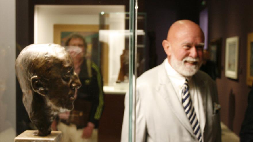 Roberto Polo en el nuevo Centro de Arte Contemporáneo de Toledo / Fidel Manjavacas