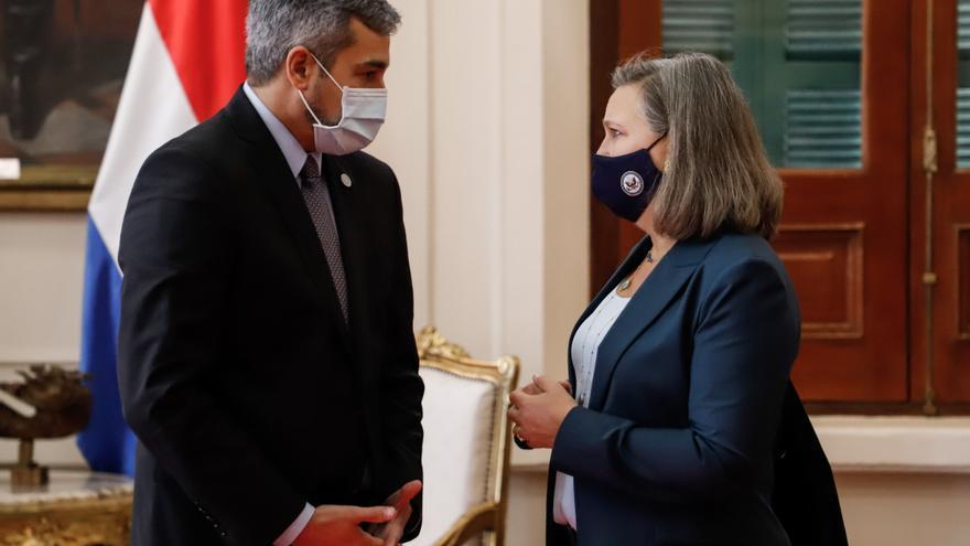 La subsecretaria de Estado de EE.UU. se reúne con el presidente de Paraguay