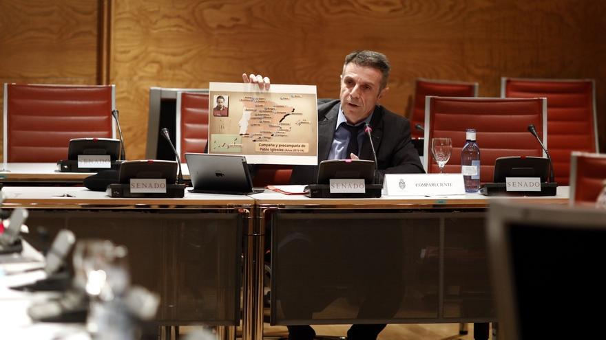 Podemos se querella contra Enrique Riobóo y Eduardo Inda por posible falso testimonio en el Senado