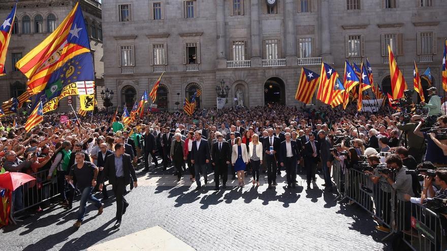 """Puigdemont: """"Que no subestimen la fuerza del pueblo de Cataluña"""""""