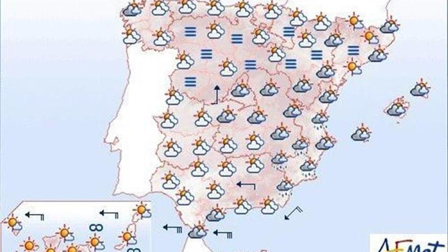 Hoy, levante fuerte en el Mediterráneo andaluz y muy fuerte en el Estrecho