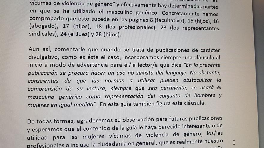 La respuesta de la Diputación de Alicante denunciada por la responsable de Sanidad