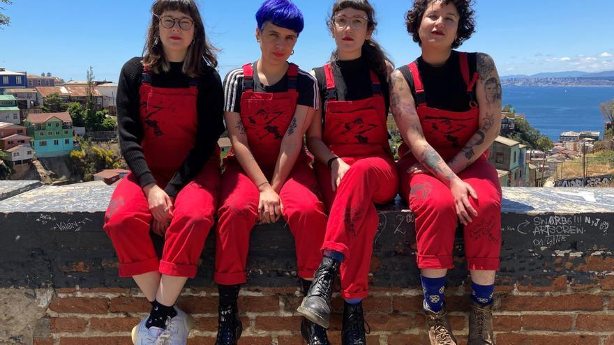 """LasTesis buscan """"Quemar el miedo"""" y sacudir conciencias en pro del feminismo"""