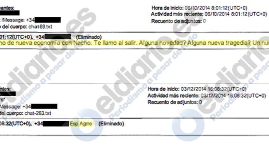 Mensajes de Esperanza Aguirre