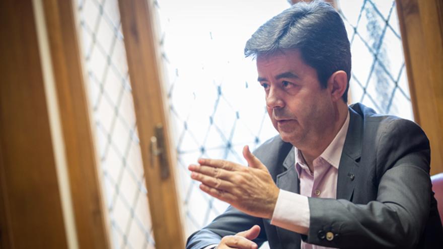 El alcalde de Huesca, Luis Felipe (PSOE).