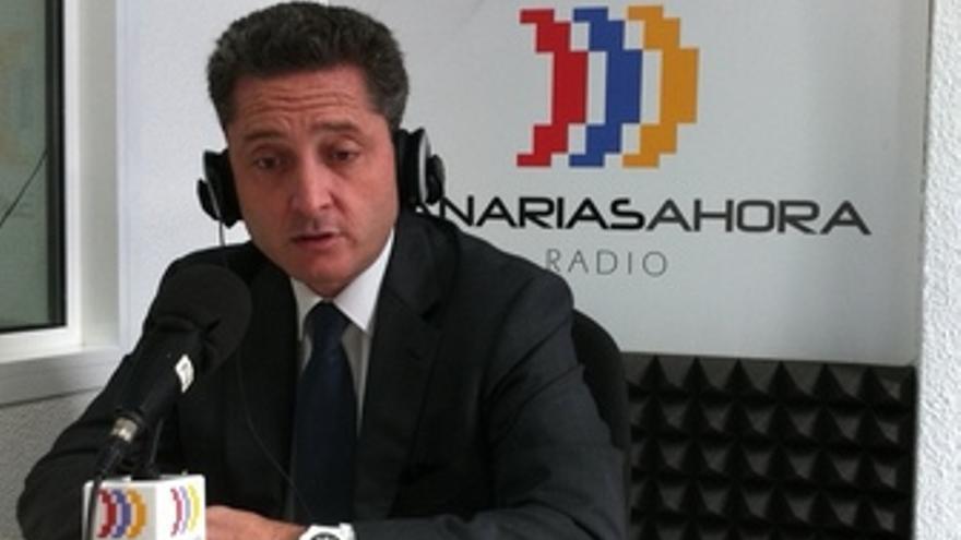 Willy García, en los estudios de CANARIAS AHORA RADIO.