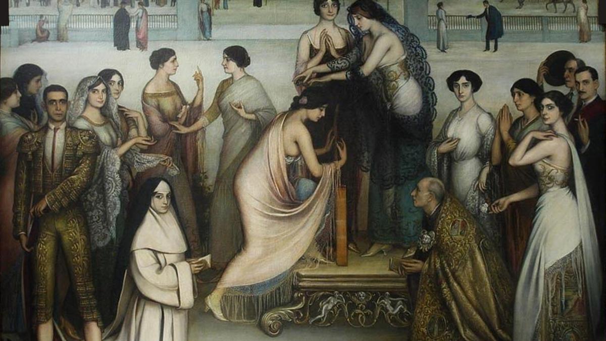 La consagración de la copla, de Julio Romero de Torres.