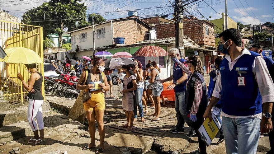 Solo en el barrio de Nova Descuberta, el Ayuntamiento de Recife (Pernambuco) ha multado a 54 comercios por no cumplir con las medidas de la cuarentena.
