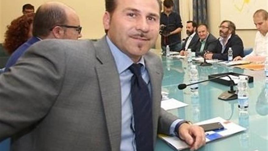 El diputado provincial del PP de alicante Alejandro Morant