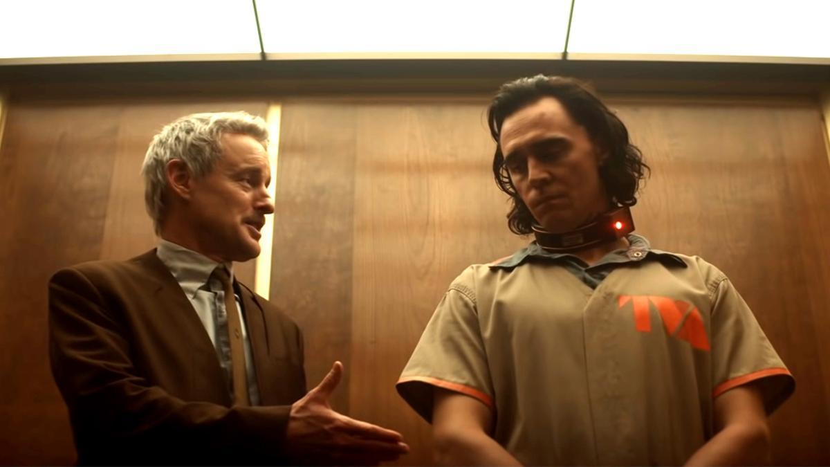 Owen Wilson y Tom Hiddleston en 'Loki'