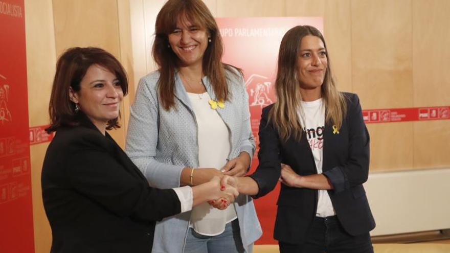 """JxCat no apoya la investidura de Sánchez por la """"vulneración de los derechos"""" de los diputados presos"""