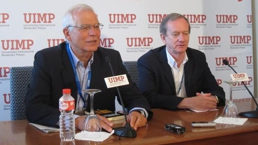 """Borrell califica de """"reduccionista"""" la visión de Rajoy de """"o yo soy presidente o hay terceras elecciones"""""""