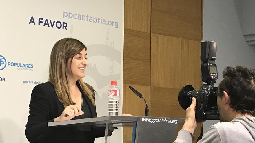 Sáenz de Buruaga: Yo soy la legítima presidenta del PP y lo seré mientras no se demuestre lo contrario