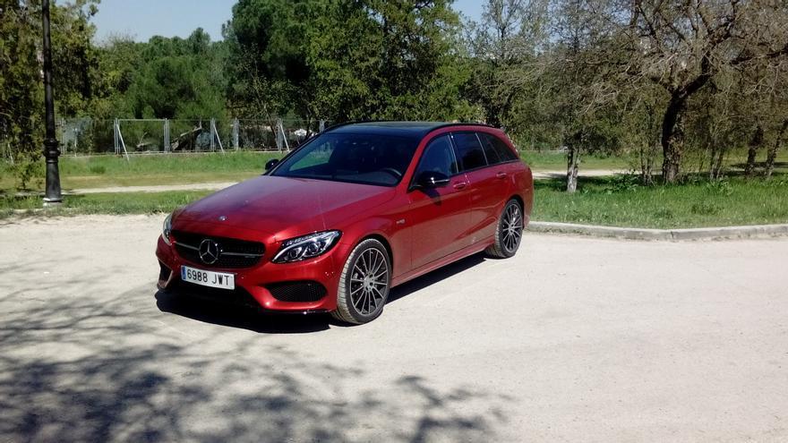 Mercedes-AMG C 43 Estate.