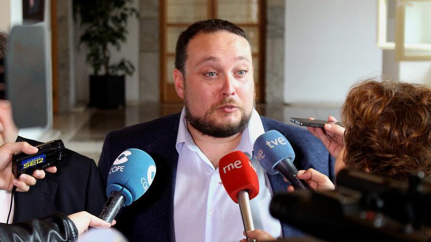 El diputado de Ciudadanos Rubén Gómez.