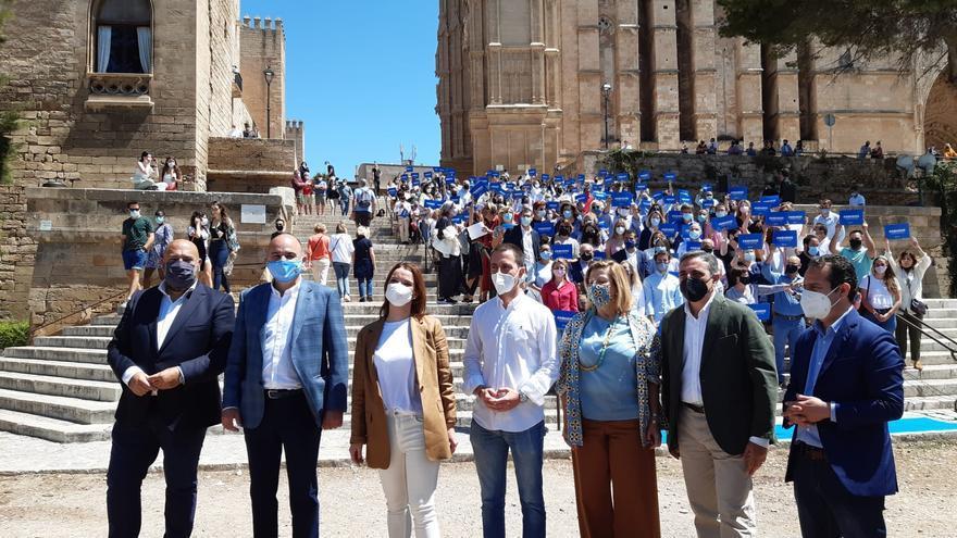 La diputada del PP por Baleares, Marga Prohens, oficializa su precandidatura a presidir el PP balear.