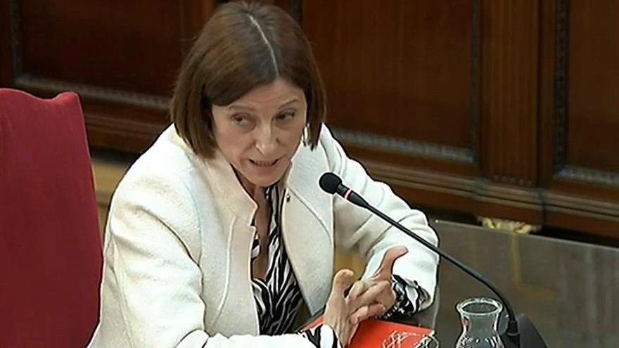 """Forcadell niega que dirigiera """"ninguna estrategia"""" hacia la independencia"""