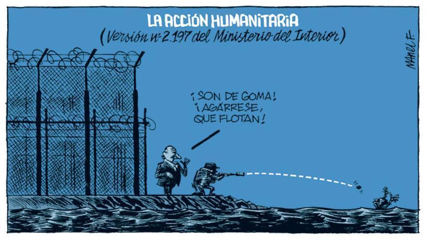 La acción humanitaria