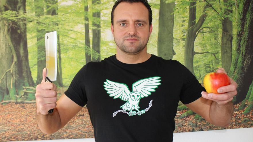 Phil Hörmann, carnicero alemán que ahora es vegano y activista en defensa de los animales