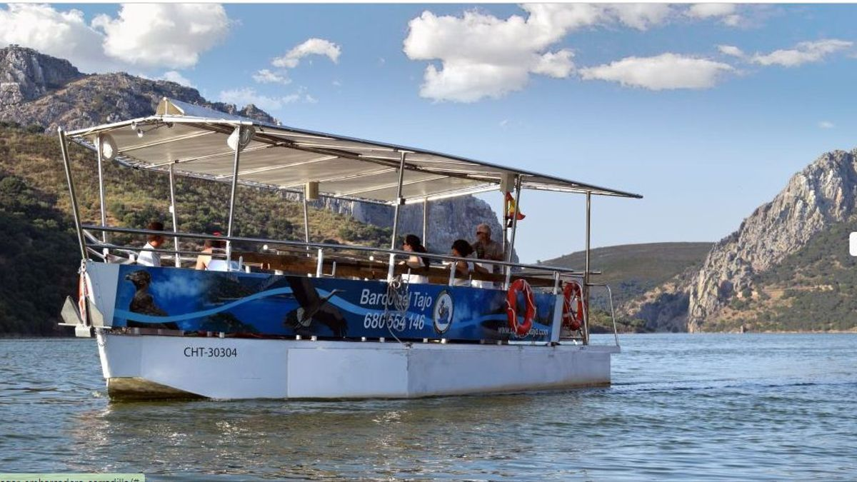 Barco Turístico del Tajo