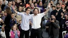 Iglesias sitúa a Errejón fuera del partido y anuncia que Podemos e IU se presentarán contra él en las autonómicas